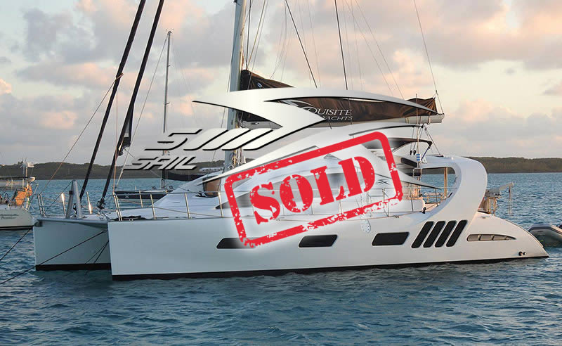 Certified Pre-Owned Xquisite Yachts - X5 Sail Cattitude